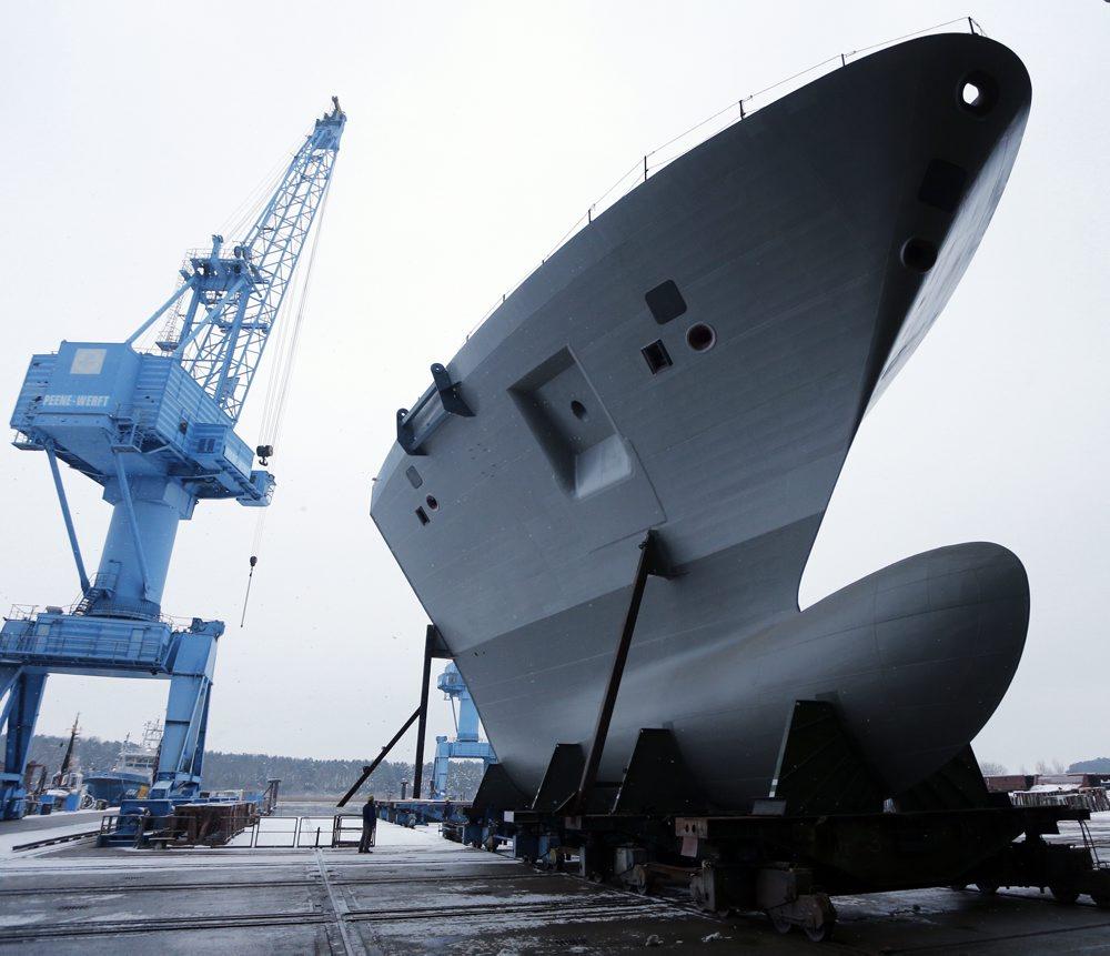 Vorschiff für eine Fregatte