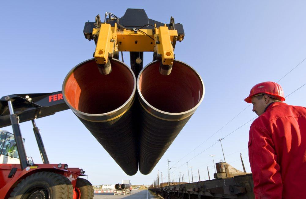 Rohre für die Ostsee-Pipeline