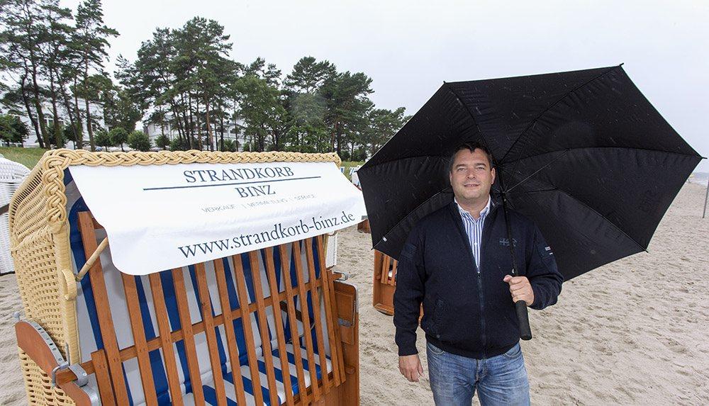 Martin Kruggel – Strandkorbvermieter